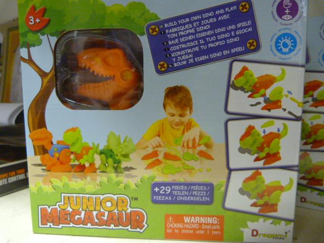 Lot 213 - *Junior Megasaw Build Your own Dino