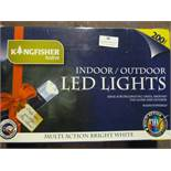*Box of 200 Indoor/Outdoor LED Lights