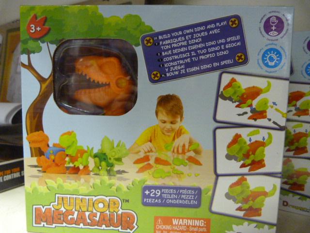 Lot 205 - *Junior Megasaw Build Your own Dino