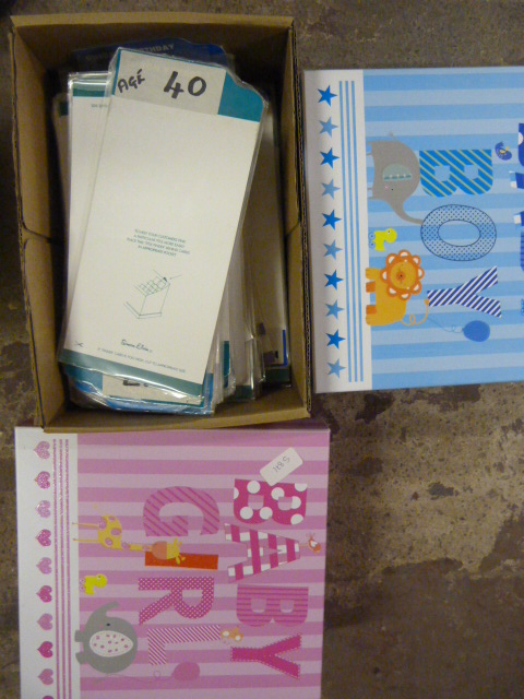 Lot 430 - Two Baby Gift Boxes and a Box of Display Shelf Car