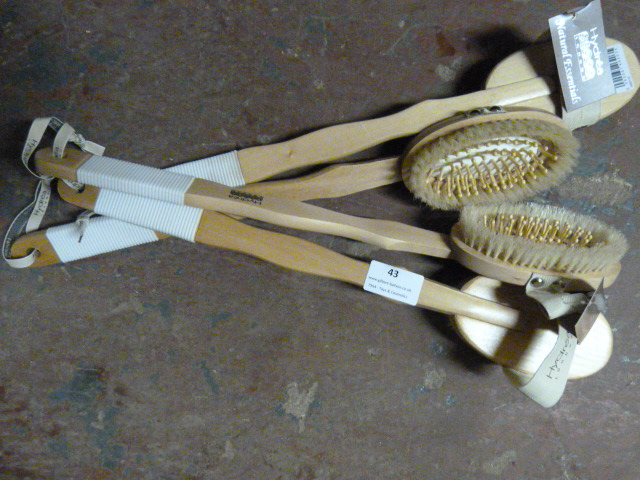 Lot 43 - *Four Hydrea Combination Body Brushes