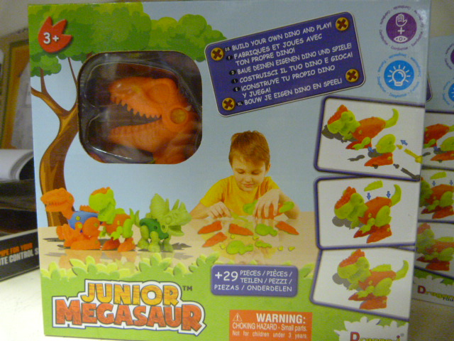 Lot 207 - *Junior Megasaw Build Your own Dino