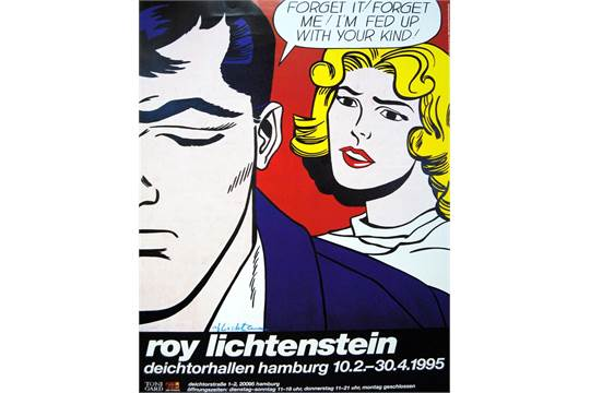 Roy lichtenstein american 1923 1997 forget it forget me im roy lichtenstein american 1923 1997 forget it forget me im fed up with your kind color voltagebd Images