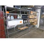 (2 sec.) CariAll rack, 72 in. W x 84 in. H x 24 in. D [Kitchen Cage, 1st Floor]