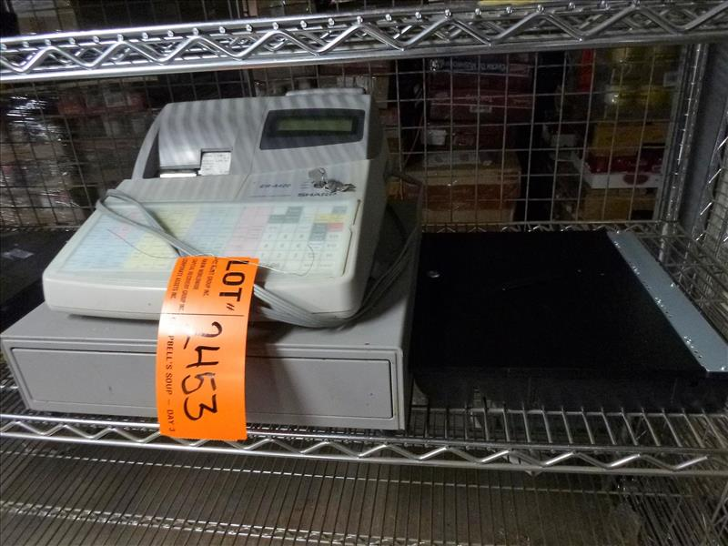 Lot 2453 - Sharp electronic cash register, mod. ER-A420 [Cafeteria/Store, 1st Floor]