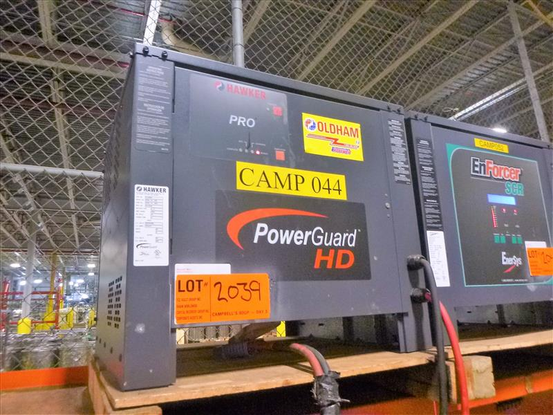 Hawker battery charger, 48V [Material Handling]