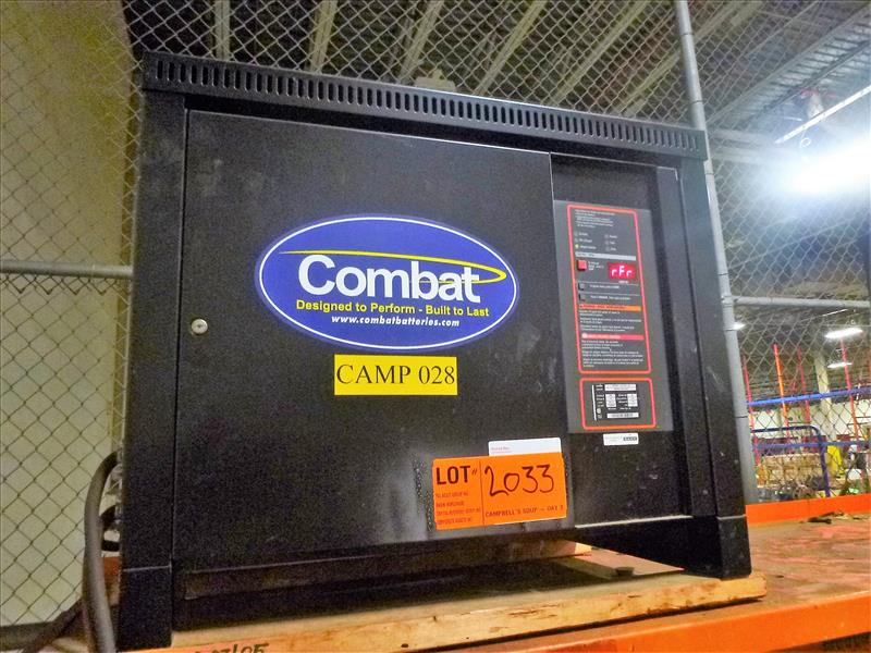 Combat battery charger, 48V [Material Handling]