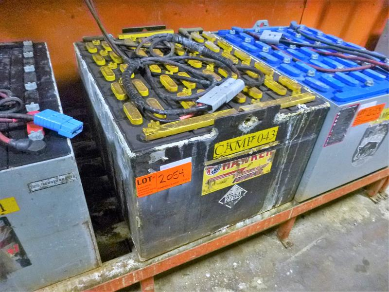 Hawker lift truck battery, type E90-19, 48V [Material Handling]