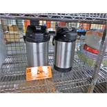 (2) Shurizjo insulated coffee dispensers [Kitchen Cage, 1st Floor]