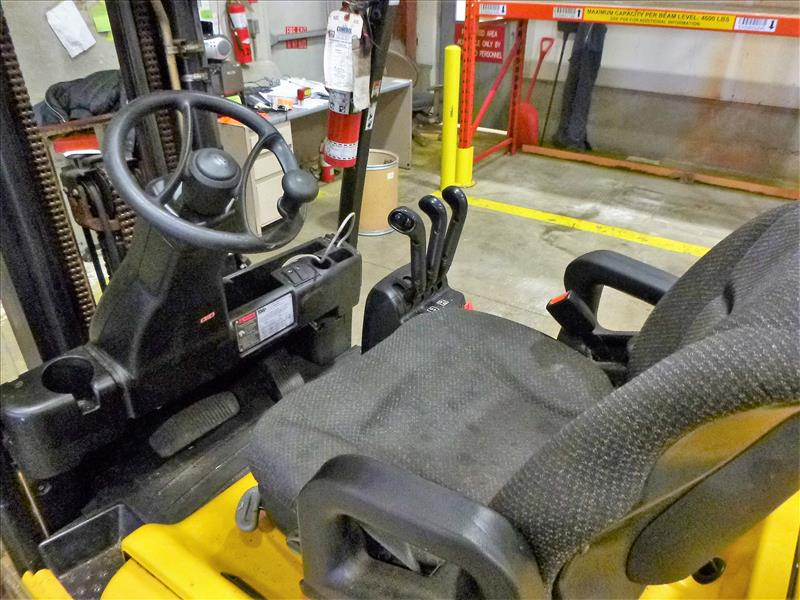 Yale fork lift truck, mod. ERP040VFN48TE082, ser. no. A955N03067P, 48V electric, 3700 lbs cap., - Image 3 of 4