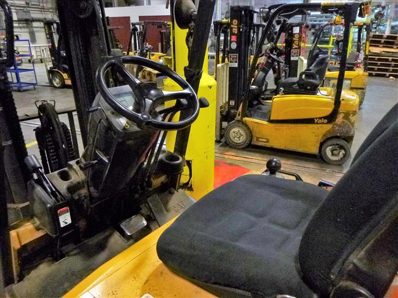 Caterpillar fork lift truck, mod. EC25K, ser. no. A3EC230476, 48V electric, 4450 lbs cap., 188 in. - Image 3 of 4