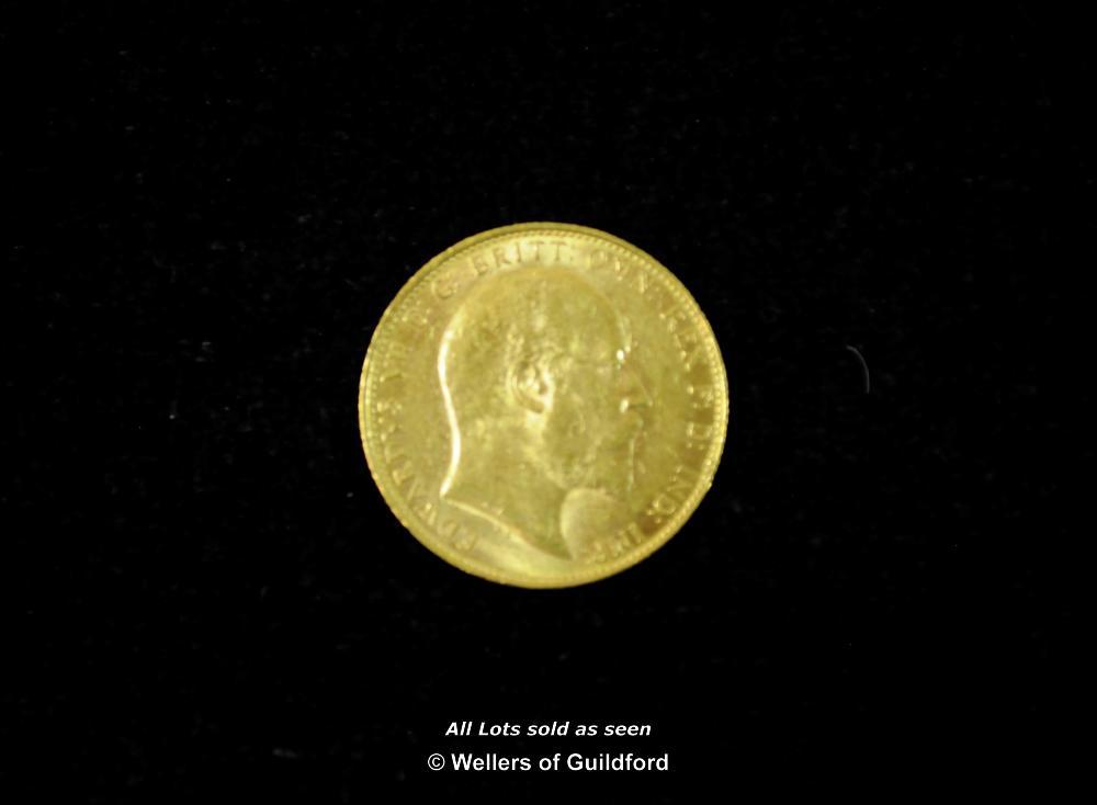 Lot 7068 - Victoria, gold sovereign, 1895 S, Sydney Mint, old head left, rev, St George (S 3877); Edward II
