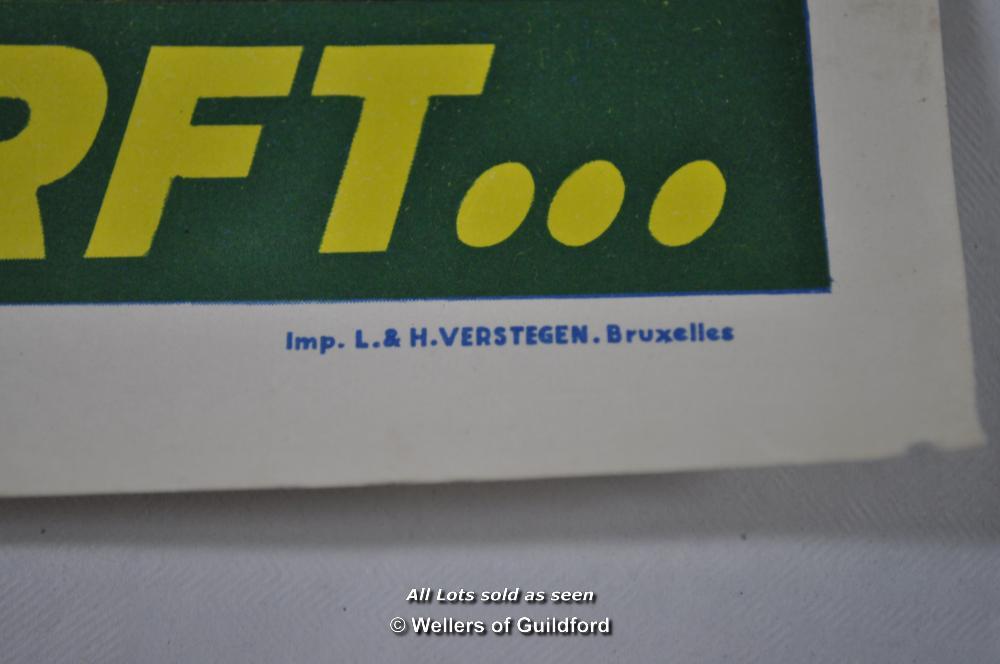"""Lot 7196 - Movie poster - """"La Morte-Saison des Amours"""" (The Season for Love) 1961, Belgian poster, 14 x 22"""