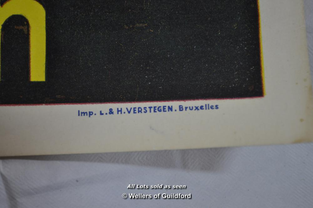"Lot 7193 - Movie poster - ""Quand tu liras cette lettre"" (When You Read This Letter) 1953, Belgian poster, 14"