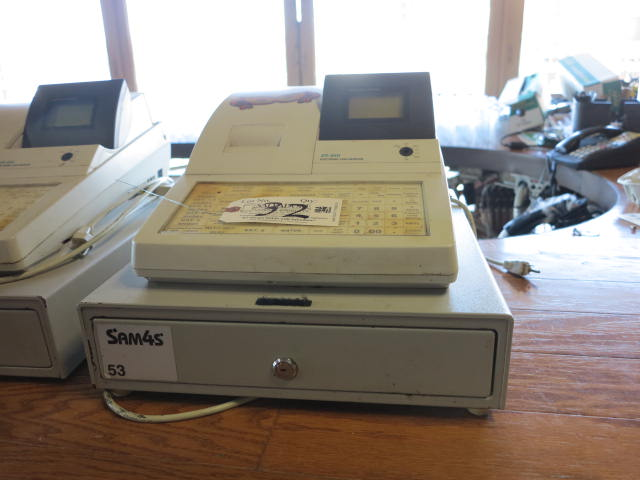 Lot 32 - Sam4S Model ER-650 Cash Register
