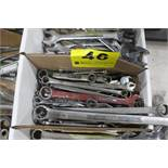 ASSORTED COMBINATION AND CLOSED WRENCHES IN BOX