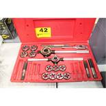 MATCO MODEL 6094TD NC AND NF TAP & DIE THREADING SET, IN CASE