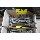ASSORTED OPEN WRENCHES IN BOX