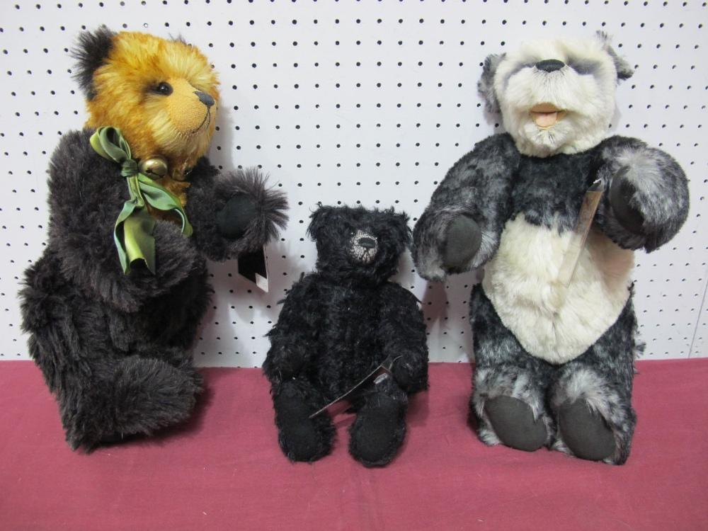 Lot 29 - Three Modern Teddy Bear by The Cotswold Bear Co., Waldo Artist Christine Pike, No. 20 of 100,