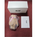 A Boxed Modern Steiff (Danbury Mint) Charlotte 'Royal Baby' Teddy Bear, certificated No. 2194, as