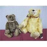 Two Modern Teddy Bears by The Cotswold Bear Co, 'The Artist Gallery' Jupiter by G. Gyllenship No. 34