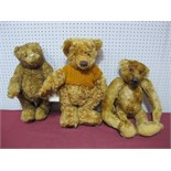 Three Modern Teddy Bears, including Paprika Bear by The Cotswold Bear Company, A Collectors Bear