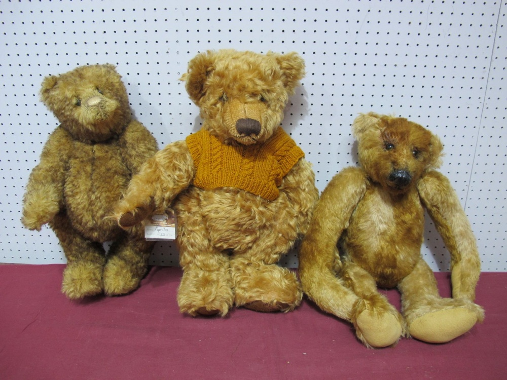 Lot 42 - Three Modern Teddy Bears, including Paprika Bear by The Cotswold Bear Company, A Collectors Bear