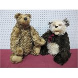 Two Modern Teddy Bears by The Cotswold Bear Co, 'The Artist Gallery', Ambrose by Christine Pike