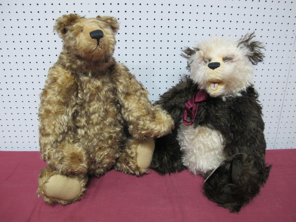 Lot 19 - Two Modern Teddy Bears by The Cotswold Bear Co, 'The Artist Gallery', Ambrose by Christine Pike