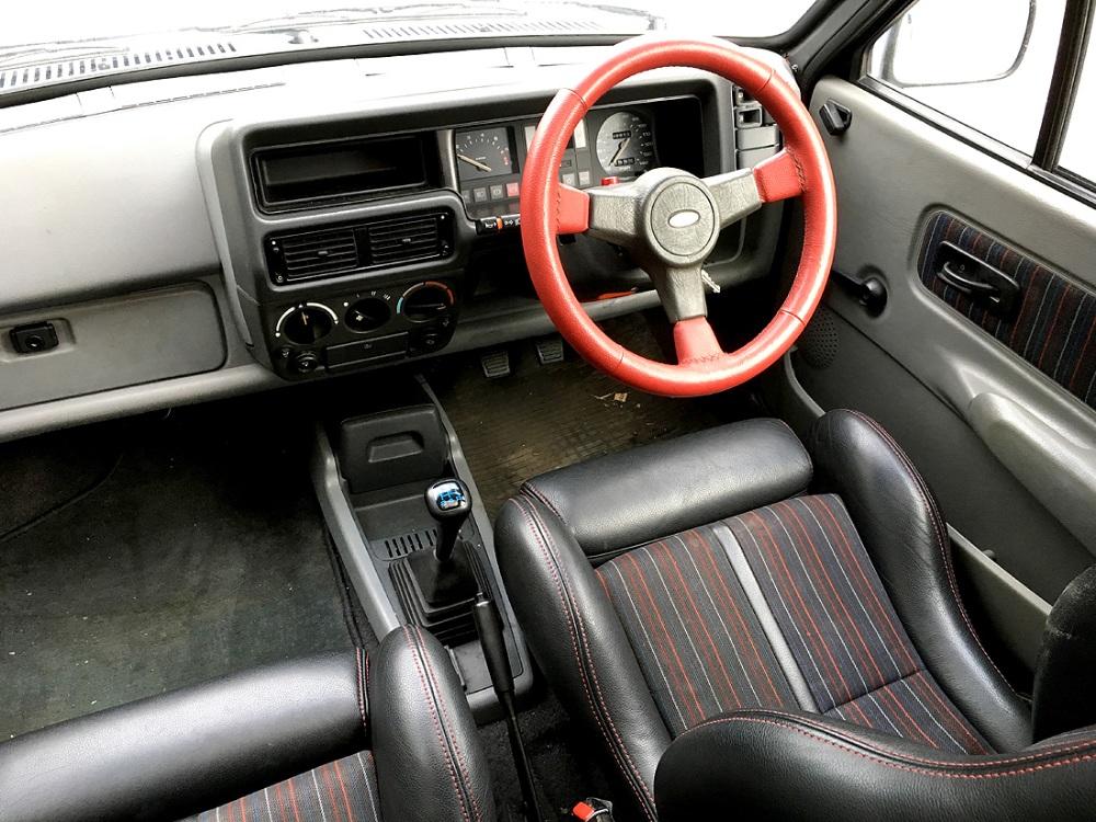 Lot 1 - 1985 Ford Fiesta XR2 (C769 XBU) 1.6 Petrol, 3-Door Hatchback, in Paris Blue Metallic with Half-