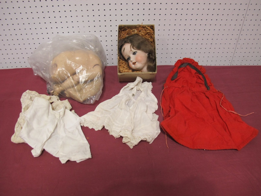 Lot 31 - An Early XX Century Bisque Headed Doll by Armand Marseilles, head stamped 390 A3 M. Sleepy eyes with