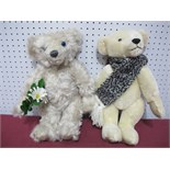 "Two Modern Merrythought Teddy Bears, Great Ormond Street ""Visiting Day"" Bear, 69/9500, Winter"
