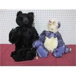 Two Modern Teddy Bears by The Cotswold Bear Co, Shanghai, No. 35 of 100, Masquerade, No. 14 of 100.
