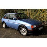 1985 Ford Fiesta XR2 (C769 XBU) 1.6 Petrol, 3-Door Hatchback, in Paris Blue Metallic with Half-