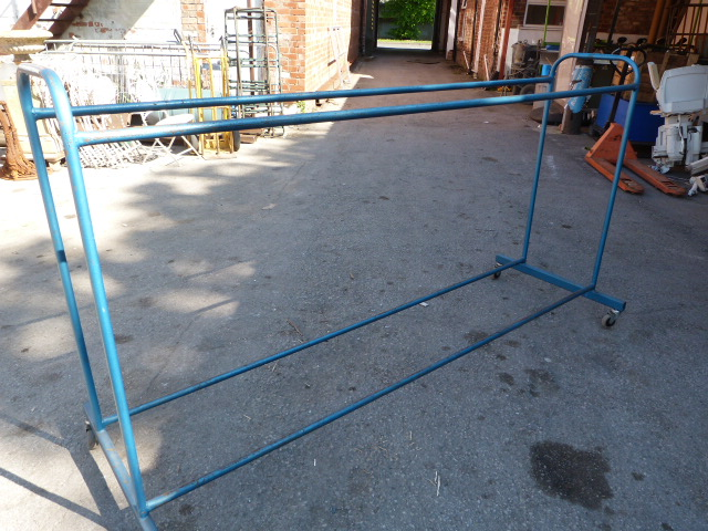 Lot 6 - Sofa Trolley/Clothes Rail
