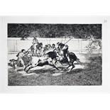 Francisco de Goya y Lucientes. Tauromachie. Faksimileausgabe. 43 Heliogravüren. Herausgegeben von