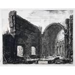 Giovanni Battista Piranesi. Avanzi di una Sala appartemente al Castro Pretorio nella Villa Adriana