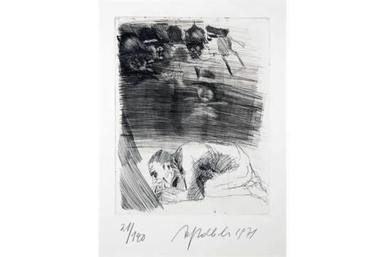 Alfred Hrdlicka Pablo Neruda Estravagario Dreißig