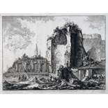 Giovanni Battista Piranesi. Veduta […] Templi de Sole, e della Luna, o d' Iside e Serapide.