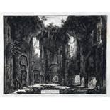 Giovanni Battista Piranesi. Dieta, o sia Luogo […] nella Villa Adriana. Radierung. 1777. 45,0 : 58,0