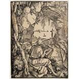 Albrecht Dürer. Der Apostel Paulus. Kupferstich. 1514. 11,6 : 7,3 cm. Schöner klarer Druck in