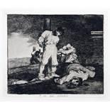 Francisco de Goya y Lucientes. Los desastres de la guerra. Coleccion de ochenta láminas inventadas y