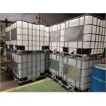 Lot of (8) 1000 litre plastic totes - New and Unused