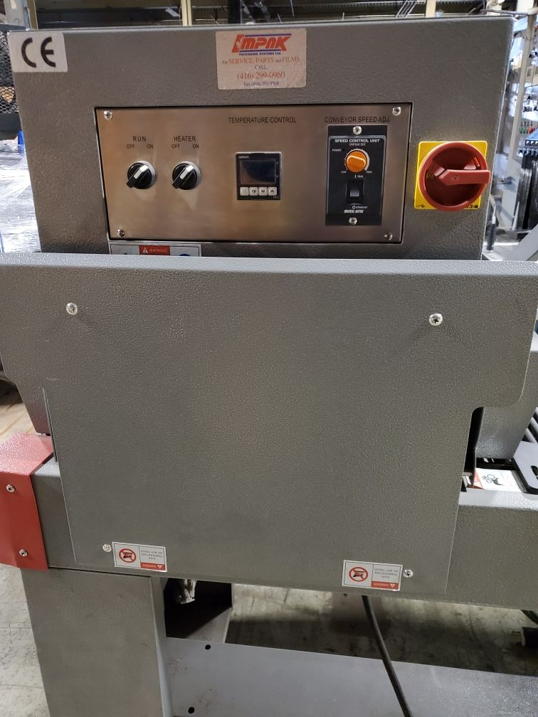 Impak Packaging Systems L-Bar Sealer and Shrink Tunnel - Image 3 of 6