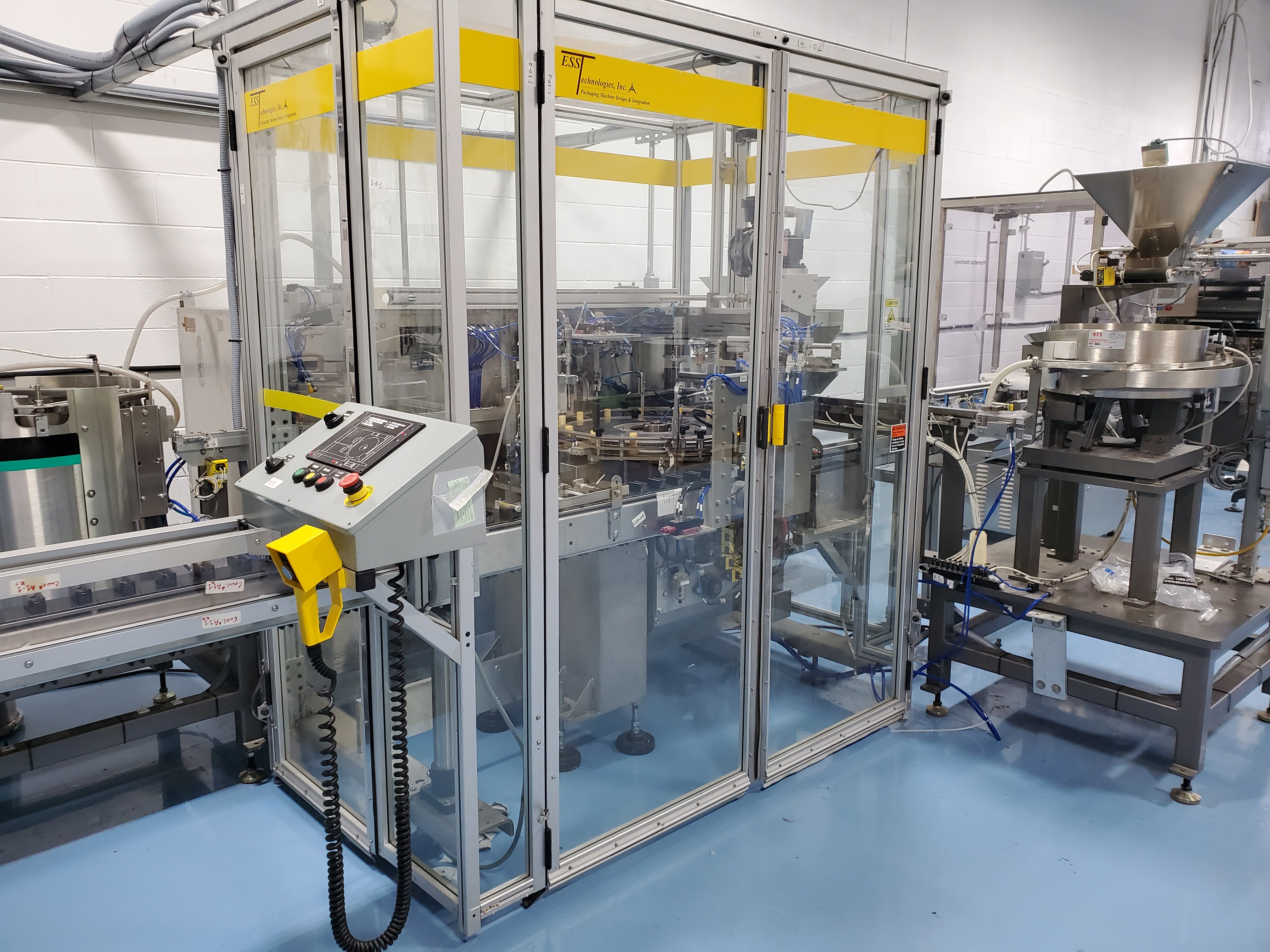 ESS TECHNOLOGIES MB60XP EXPLOSION PROOF MONOBLOCK FILLING & SEALING SYSTEM - Image 5 of 11