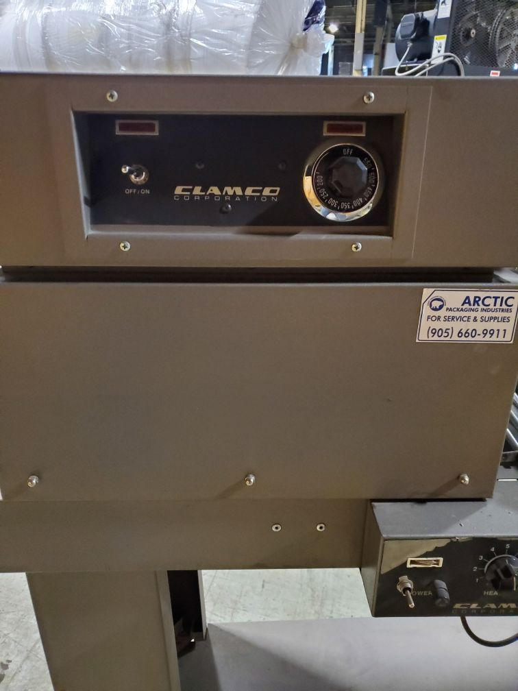 Clamco Semi-Automatic L-Bar Sealer with Shrink TunnelModel 110-20 - Image 3 of 4