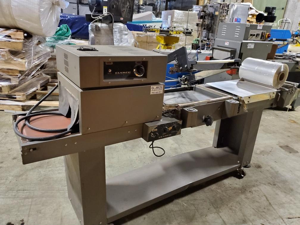 Clamco Semi-Automatic L-Bar Sealer with Shrink TunnelModel 110-20