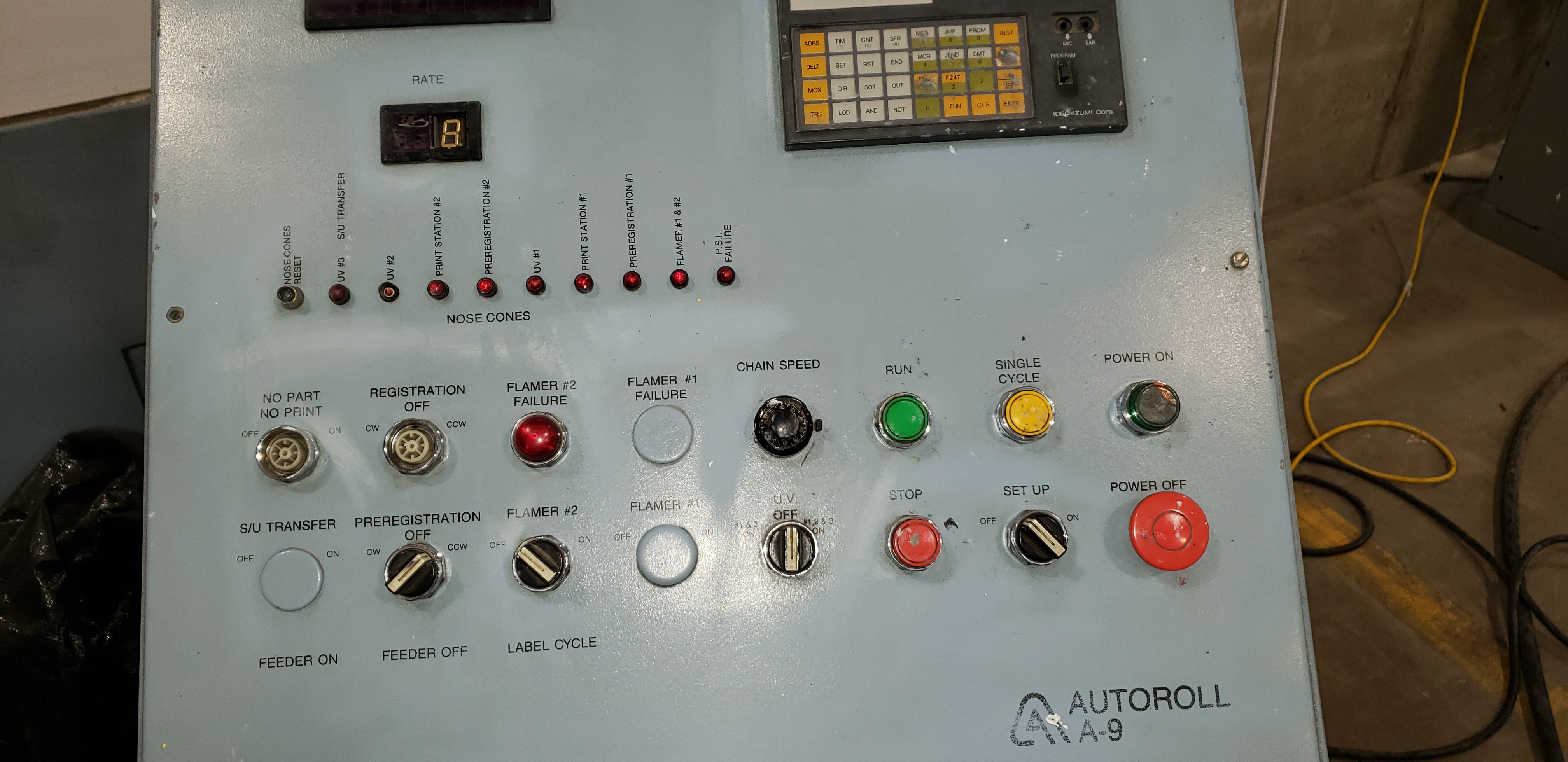 AutoRoll Model A9 /1- Color, Automatic, UV, Bottle Printer - Image 18 of 25