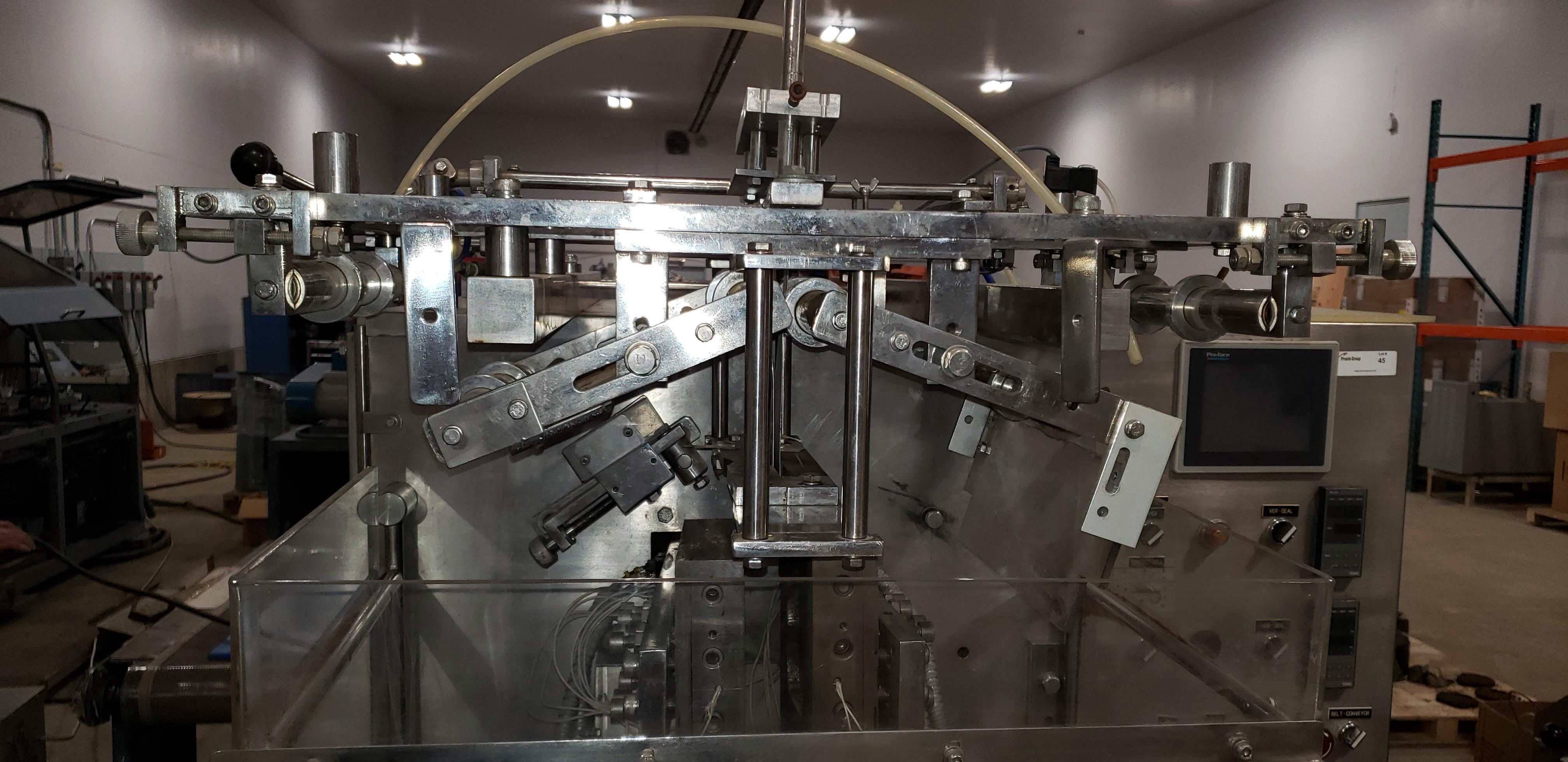 SAVPAK VERTICAL FORM FILL & SEAL MACHINE - Image 7 of 22