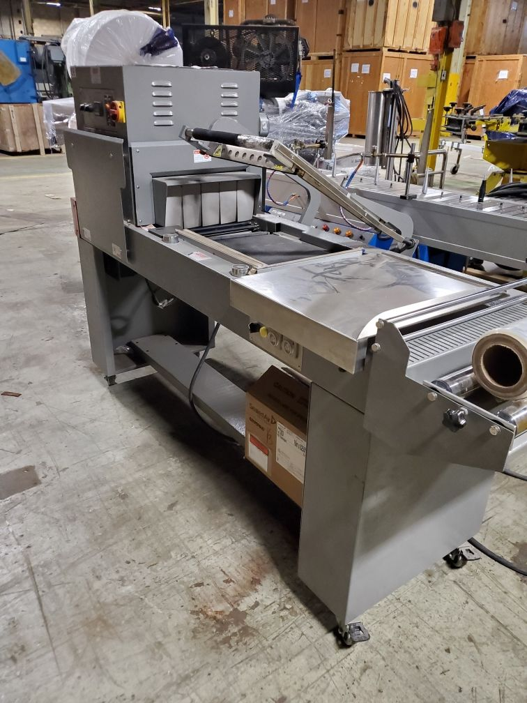 Impak Packaging Systems L-Bar Sealer and Shrink Tunnel